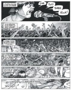 Extrait de One, Two, Three, Four, Ramones ! de Bruno Cadène, Eric Cartier et Xavier Betaucourt